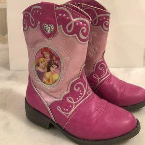 Disney Princess Boots Toddler size 8